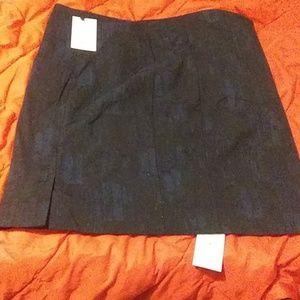 Noho Skirt Brush Jacquard Blue/Black +2